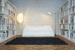 Moden Interior Room With White Sofa Royalty Free Stock Photography