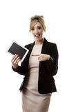 Moden working woman Stock Photo