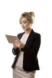 Moden working woman Royalty Free Stock Image