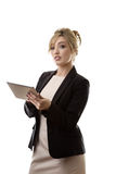 Moden working woman Royalty Free Stock Photo