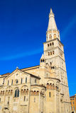 Modena Cathedral, unesco world heritage in Modena, Italy. Stock Images