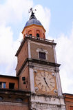 Clocktower in Modena Italien Lizenzfreies Stockbild