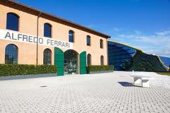 MODENA, ITÁLIA - 9 DE SETEMBRO: Casa Enzo Ferrari do museu o 9 de setembro de 2013 em Modena O museu foi aberto em março 201 Fotos de Stock Royalty Free