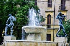 Modena Italy. Fountain in The historic city of  Modena, Italy Stock Image