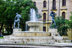 Modena , Italy. Fountain in The historic city of Modena, Italy royalty free stock images