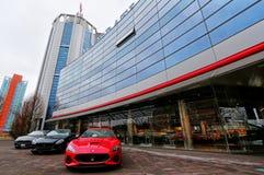 MODENA, ITALY - MARCH 2018 - FCA Maserati factory Open Day, Modena Royalty Free Stock Photo
