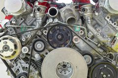 Free Modena, Italy: Powerful Ferrari Engine Royalty Free Stock Photos - 126242668