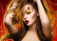 Modeporträt Stockfoto