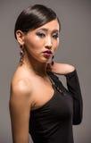 Modeporträt der asiatischen Frau Lizenzfreie Stockfotografie