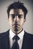 Modeporträt des jungen stilvollen Mannes Lizenzfreie Stockfotos