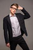 Modeporträt des Mannes Stockfotografie