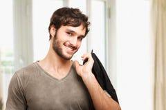 Hübsches Porträt des jungen Mannes lizenzfreie stockfotografie