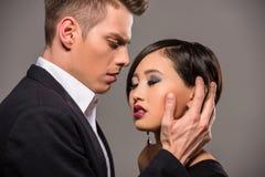 Modeporträt eines Paares Lizenzfreie Stockfotos
