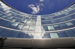 Moder Architektur in Warschau Lizenzfreies Stockfoto