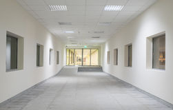 Moder business center interior Royalty Free Stock Photography