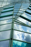 Moder glass roof Royalty Free Stock Photography
