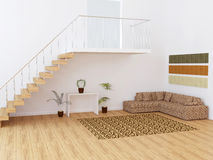 Moder interior design Stock Photography