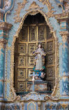 Moder Mary i Aveiro Carthedral, Portugal Royaltyfri Bild