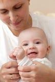 Moder med barnet Royaltyfria Bilder