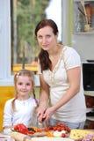 Moder med dottern royaltyfri fotografi