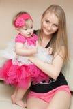 Moder och barn Royaltyfri Fotografi