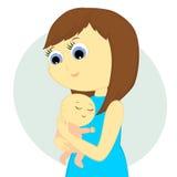 Moder och barn Royaltyfria Bilder