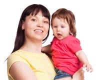 Moder och dotter Arkivfoton