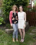 Moder och dotter för den 1st dansen Royaltyfri Fotografi