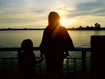 Moder och förälskelse Royaltyfri Foto