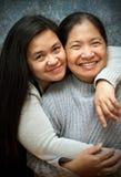Moder och mognad dotter Royaltyfria Foton