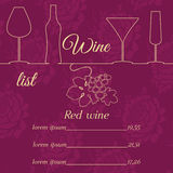 Moderate; collective; quote; interface; ; course; the array direction; template; easy; simple; abstract; recreation; enterta. Alcohol. wine. wine map. for Stock Images