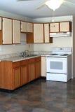 Moderate Kitchen. Kitchen in moderate price neighborhood Royalty Free Stock Photo