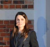 Moderatorin Julia Bauer Stock Images