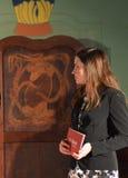 Moderatorin Julia Bauer Royalty Free Stock Photo