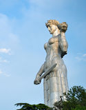 ModerGeorgia monument, Tbilisi Royaltyfria Bilder