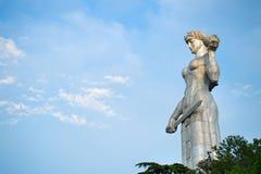 ModerGeorgia staty, Tbilisi Royaltyfri Bild