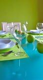 moderiktig äta middag tabell Arkivbilder
