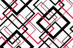 Moderiktig geometrisk sömlös modell Arkivfoton
