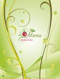 Moderiktig restaurangmenybakgrund till någon idérik design Royaltyfria Bilder