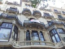 Moderist Barcelona da arquitetura Imagem de Stock