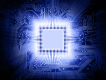 moderkortprocessor Arkivfoton