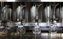Moderm化学实验室 库存图片
