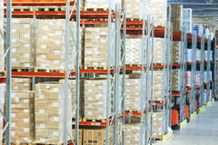 Moderm warehouse Royalty Free Stock Photography