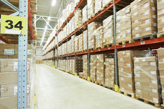 Moderm warehouse Royalty Free Stock Photo