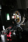 A modern 35mm film projector Royalty Free Stock Photo