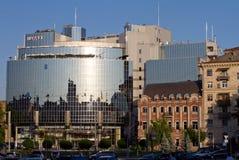 Modern 5 star Hyatt Hotel in Kiev Stock Image