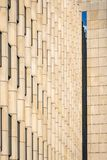 Modern abstract architecture building facade Stock Photography
