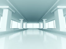 Modern Abstract Architecture Design Interior Background Stock Photography