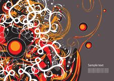 Modern abstract background Stock Image