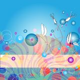 Modern abstract background Stock Photos